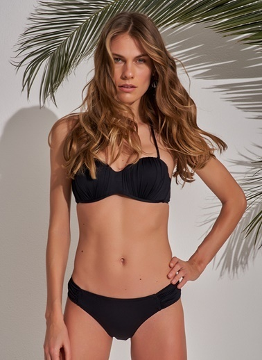 Morhipo Beach Straplez Bikini Siyah
